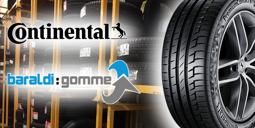Baraldi Gomme Continental Premium Contact 6